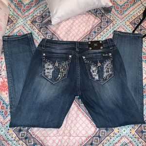 Miss me  women's size 32 mid rise skinny jeans